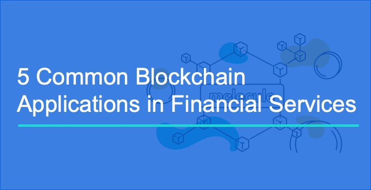 5 Common Blockchain Applications in Financial Services