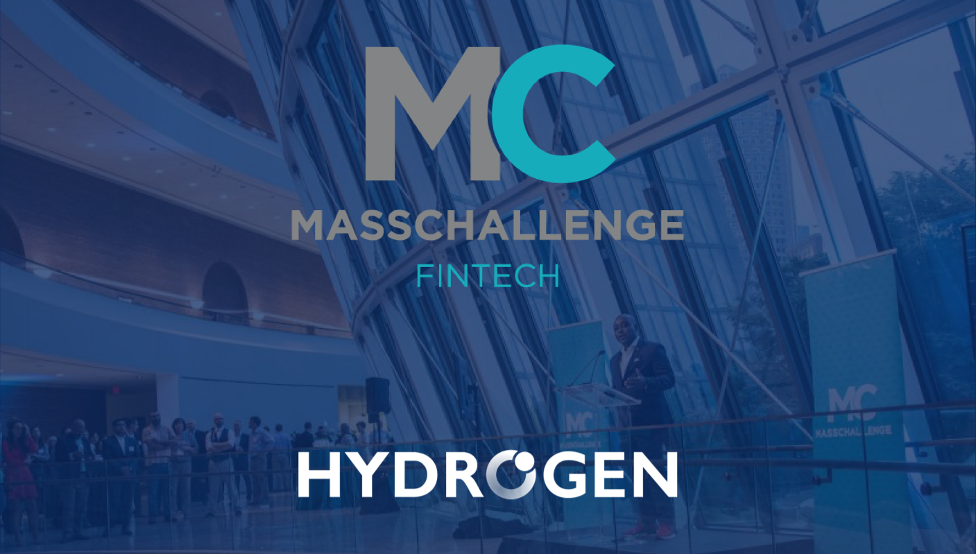 Hydrogen accepted into the MassChallenge FinTech Accelerator Program!