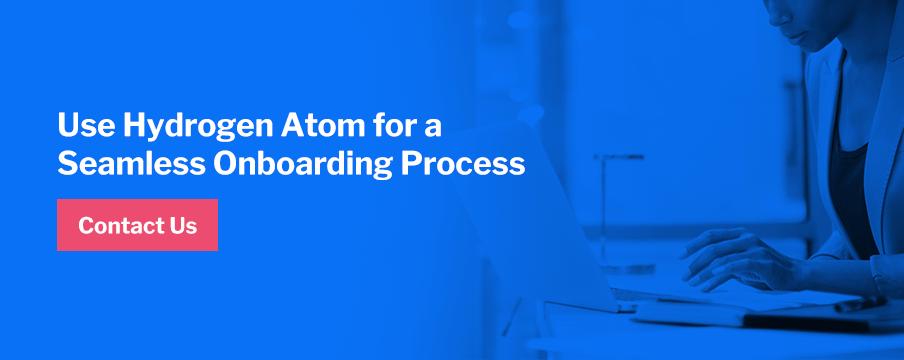 Use Hydrogen Atom for onboarding