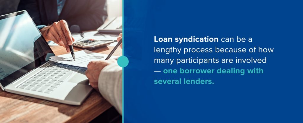 loan syndication with blockchain