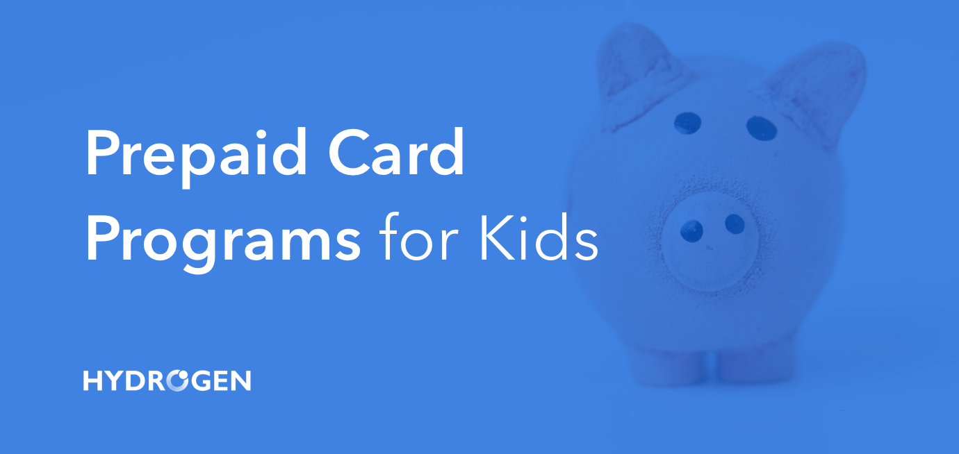 Prepaid Card Programs For Kids